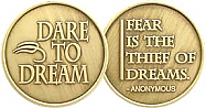 Dare to Dream Medallion