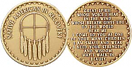 Native American Recovery Medallion